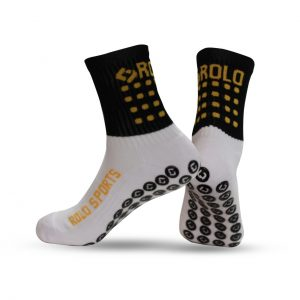 Black & Yellow Cushioned Sports Socks