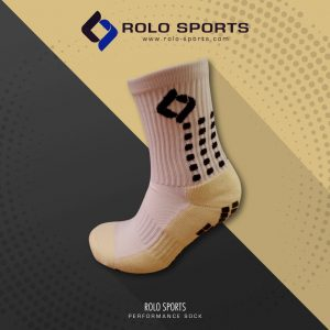White Cushioned Sports Socks by Rolo Sports