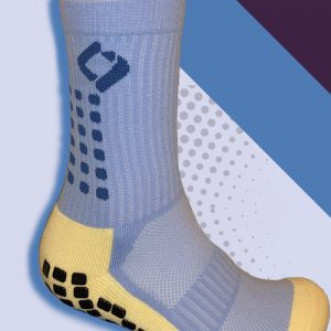 Sky Blue cushioned sports socks