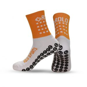 Orange Cushioned Sports Socks